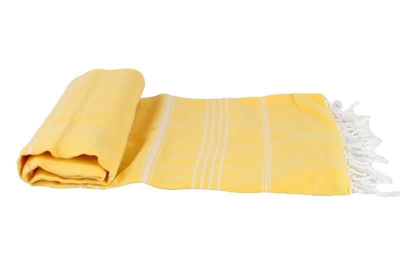 Рушник Cross Peshtemal 97*176см жовтий №22 - фото 8656
