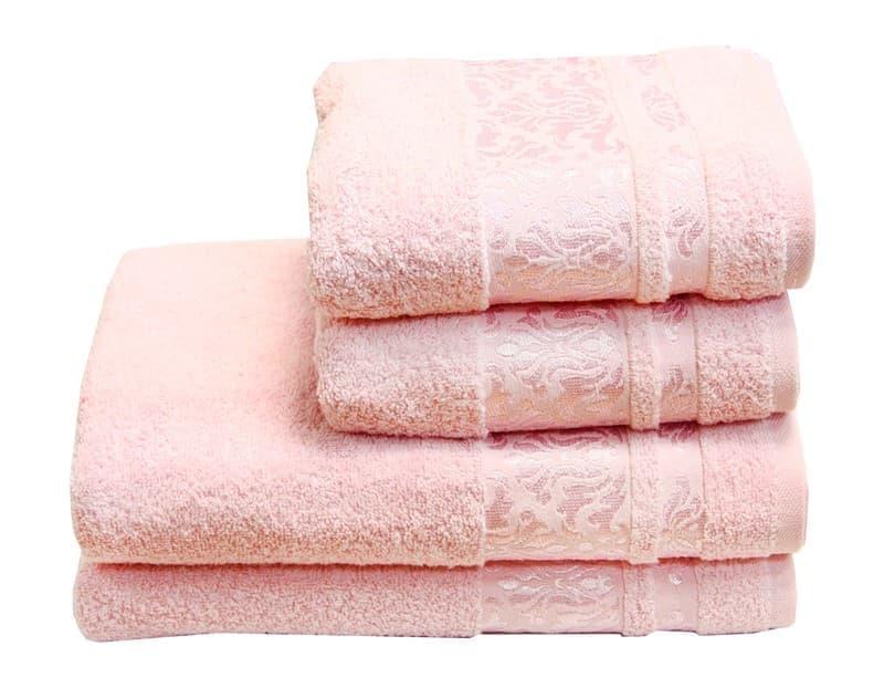 Рушник махр Lale 50*90 св.рожевий 480г/м2 - фото 8901