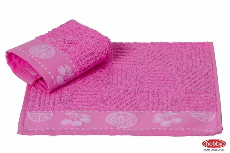Рушник д/кухні MEYVE 30*30 pembe рожевий 430г/м2 - фото 9046