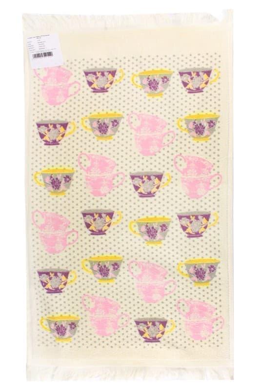 Рушник махр Чашка 40*60 рожевий 350г/м2 - фото 9160