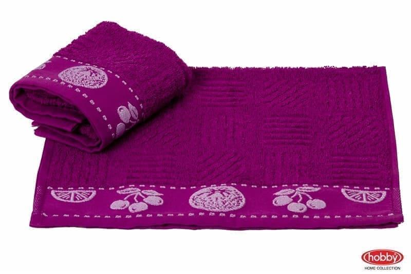 Рушник для кухні MEYVE 30*50 mor (lila) фіолетовий 430г/м2 - фото 9196