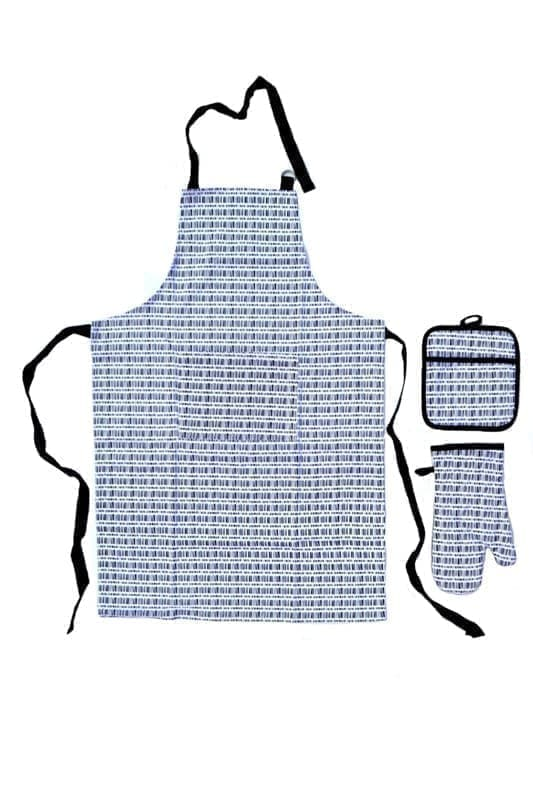 Набір для кухні CHEF DELUX фартух+прихватка+рукавиця IZGILI - фото 9392
