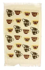 Рушник махр Чашка 40*60 коричневий 350г/м2 - фото 9940