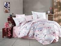 КПБ HOBBY Exclusive Sateen Brisha рожевий 200*220/4*50*70