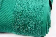 Набір рушник EURO SET Dark Green зелений 100*150 1шт. 500г/м2 - фото 10511