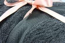Набір рушник EURO SET Grey сірий 100*150 1шт. 500г/м2 - фото 10522