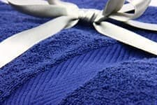 Набір рушник EURO SET Navy Blue синій 100*150 1шт. 500г/м2 - фото 10533