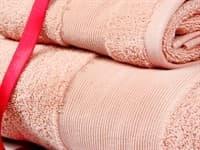 Набір рушників EURO SET Pink рожевий 30*50+50*90+80*200 3шт. 500г/м2 - фото 10554