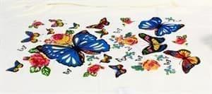 Рушник Bamboo Peshtemal 90*180см Butterfly New - фото 10586