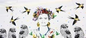Рушник Bamboo Peshtemal 90*180см Frida - фото 10592