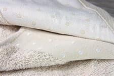 Рушник махровий Bamboo Puan Blanc 70*140 св.бежевий 520г/м2 - фото 11847