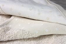 Рушник махр Bamboo Puan Blanc 70*140 св.бежевий 520г/м2 - фото 11847