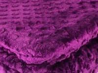 Покривало-плед HOBBY TOMURCUK фіолетовий 150*220 - фото 12028