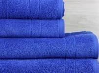 Рушник махр Maisonette Gold 70*140 синій 450 г/м2 - фото 16166