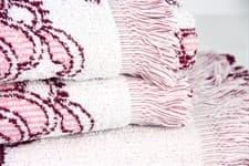 Рушник махровий Maisonette Lora 50*100 т.рожевий 450 г/м2 - фото 16360