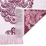 Рушник махровий Maisonette Lora 50*100 т.рожевий 450 г/м2 - фото 16368