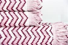 Рушник махр Maisonette Lord 50*100 т.рожевий 450 г/м2 - фото 16432