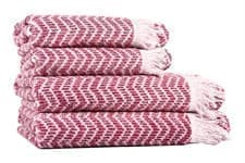 Рушник махр Maisonette Lord 50*100 т.рожевий 450 г/м2 - фото 16435