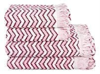 Рушник махр Maisonette Lord 50*100 т.рожевий 450 г/м2 - фото 16440