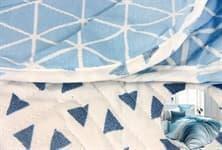 КПБ LIGHTHOUSE 4 сезона бязь голд BLAZE синій 200*220/2*50*70 - фото 16818