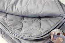 Покривало LIGHTHOUSE Unicolor сірий 200*220 - фото 16990