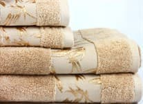 Рушник махр Maisonette Bamboo 30*50 бежевий 500 г/м2 - фото 17034
