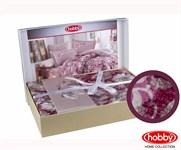 КПБ Hobby Exclusive Sateen Romina рожевий 200*220/4*50*70 - фото 21598
