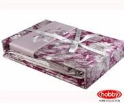 КПБ Hobby Exclusive Sateen Romina рожевий 200*220/4*50*70 - фото 21600