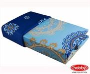 Hobby Exclusive Sateen Ottoman блакитний 200*220/4*50*70 - фото 21613