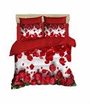 КПБ LIGHTHOUSE ranforce+3D Red Roses 200*220/4*50*70