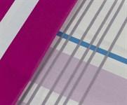 Hobby Poplin Stripe фуксія 200*220/2*50*70 - фото 21689