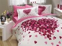 Hobby Poplin Juana рожевий 200*220/2*50*70