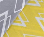 Hobby Poplin Nazende жовтий 160*220/1*50*70 - фото 21857