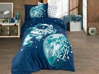 Hobby Poplin Galaxy синій 160*220/1*50*70