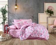 Hobby Poplin Lavida рожевий 160*220/1*50*70