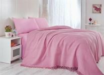 Покривало-плед Checkers т.рожевий 220*240