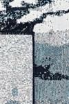 Килим ALBENI 80*150 SIYAH BEYAZ ALB2 - фото 22373