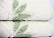 Рушник махровий Maisonette Solvron 76*152 зелений 550 г/м2 - фото 22444
