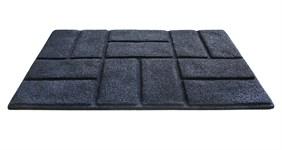 Килимок придверний Torn Brick 50*75 графіт