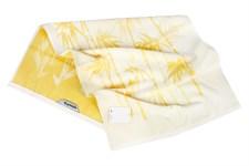Рушник махровий Maisonette Bamboo Leaf 76*152 жовтий 500 г/м2 - фото 22559