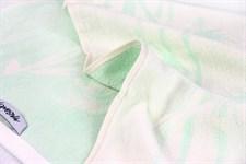 Рушник махровий Maisonette Bamboo Leaf 76*152 м'ятний 500 г/м2 - фото 22580