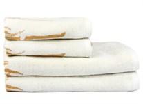 Рушник махровий Maisonette Bamboo Leaf 76*152 бежевий 500 г/м2