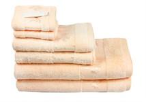 Рушник махровий Maisonette Bamboo 76*152 персиковий 500 г/м2 - фото 22653