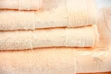 Рушник махровий Maisonette Bamboo 76*152 персиковий 500 г/м2 - фото 22654