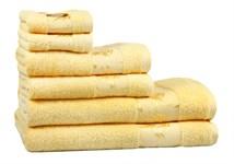 Рушник махровий Maisonette Bamboo 76*152 жовтий 500 г/м2 - фото 22656