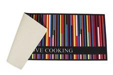 Килимок для кухні COOKY 50*125 COLOURFULL - фото 22809