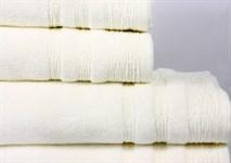 Рушник махровий Maisonette Hydropile 70*140 кремовий 450 г/м2 - фото 22860