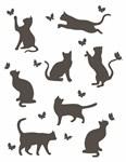 """Плед """"Meow"""" 140*200 бежевий - фото 22990"""