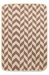 Набір килимків SOLO 40*60+60*90 KREM PEMBE ZIGZAG - фото 23055