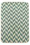 Набір килимків SOLO 40*60+60*90 KREM MAVI ZIGZAG - фото 23061